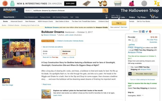 Bulldozer amazon #1 release