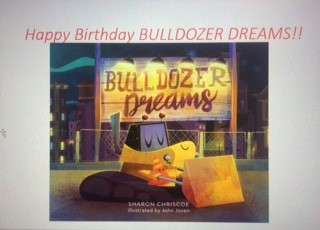 Happy Birthday BULLDOZER DREAMS!!.