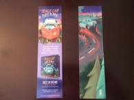 Race Car Dreams bookmarks