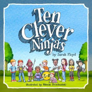 TEN CLEVER NINJAS COVER